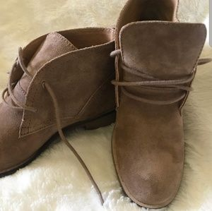 lucky brand womens ankle boots